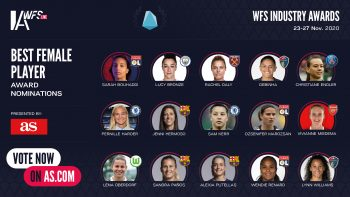 WFSIA Best Female Player award nominees