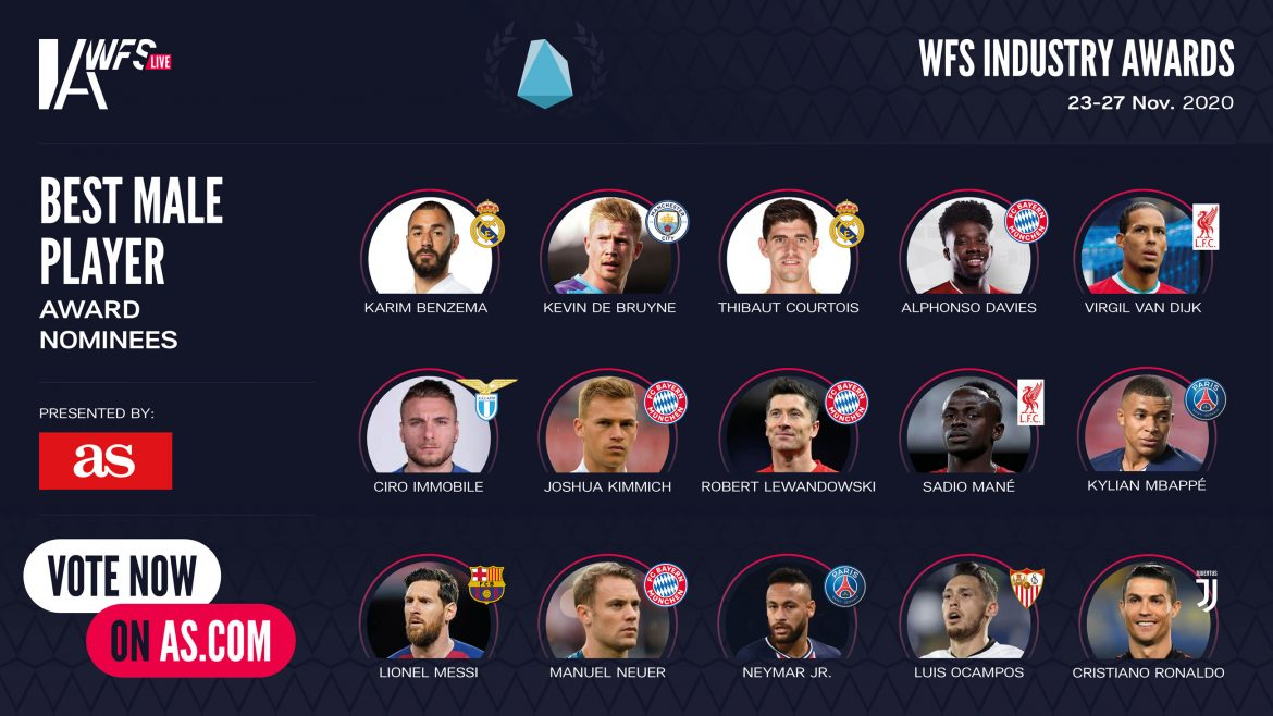 WFSIA Best Male Player award nominees