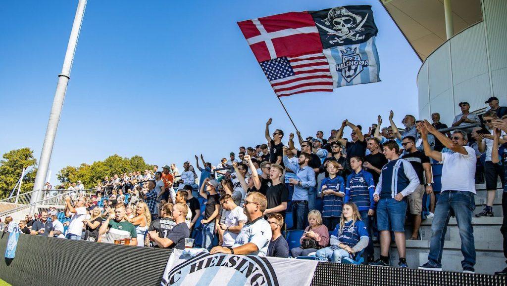 Jordan Gardner: Supporters Helsingor Stadion