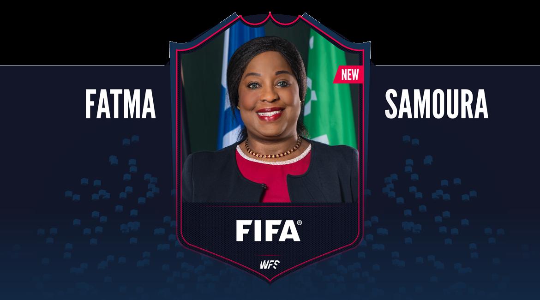 Fatma Samoura, FIFA Secretary General